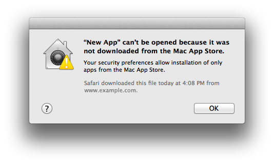 Cài app *.dmg bên ngoài APP STORE