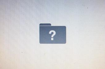 """Khởi động máy hiện biểu tượng """"Folder ?"""""""