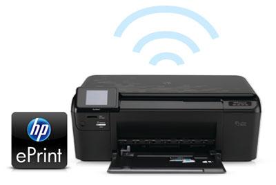In ấn trên máy in bằng thiết bị di động