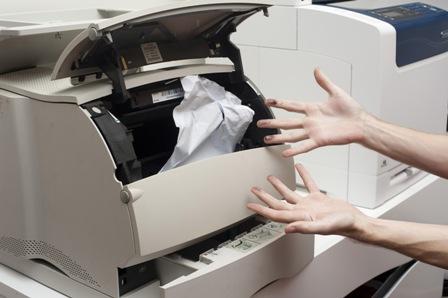 Kẹt giấy máy in và những vấn đề cần chú ý