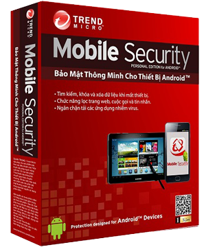 Trend Micro Mobile Security Personal Edition (Chính Hãng)